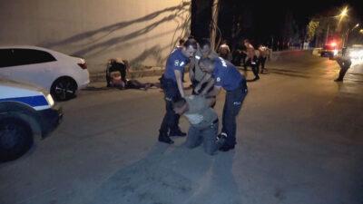 Bursa'da gece yarısı terör estirdiler: 4 gözaltı