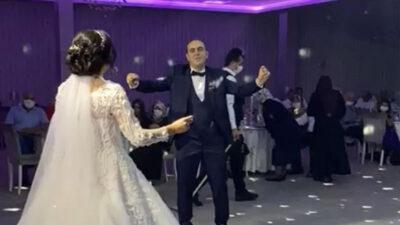 Yer: Bursa… İşte sosyal mesafeli örnek düğün