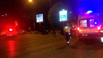Bursa'da otomobil ile motosiklet çarpıştı: 5 yaralı