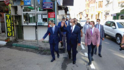 Bakan Soylu açıklamıştı… Bursa'da maske, mesafe ve hijyen denetimi