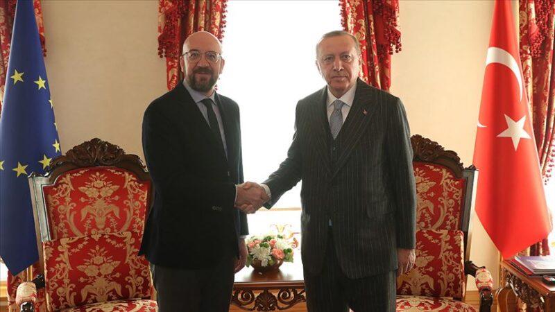 Cumhurbaşkanı Erdoğan'dan bir önemli görüşme daha