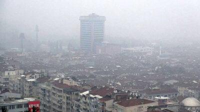 Bursa hava kirliliğinde zirveyi bırakmıyor