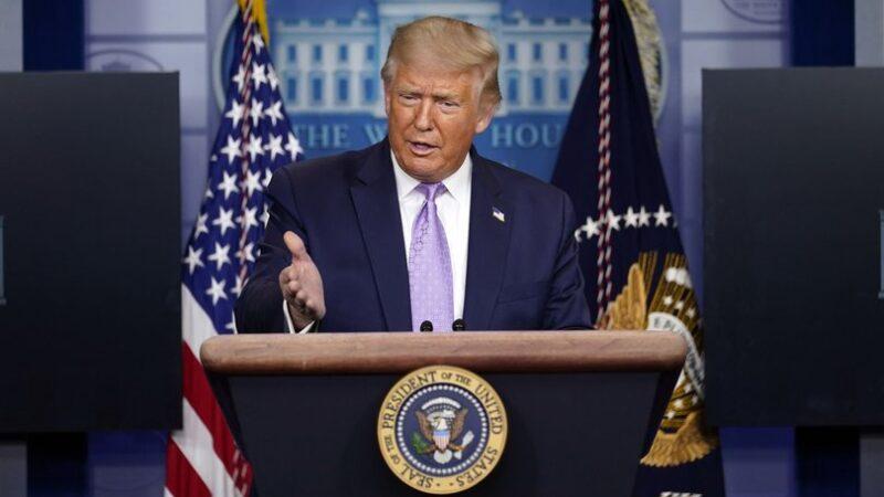 Muhabirin sorusu Trump'ı şaşırttı