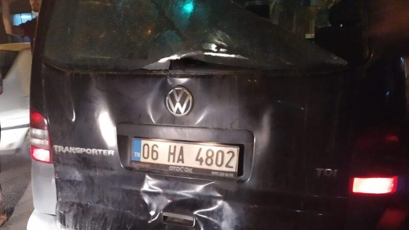 Bursa'da alkollü tır şoförü dehşeti yaşattı o anlar kameraya yansıdı