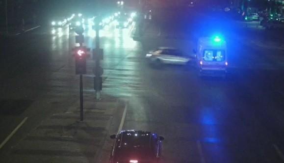 Bursa'da kavşakta feci kaza! O anlar kamerada
