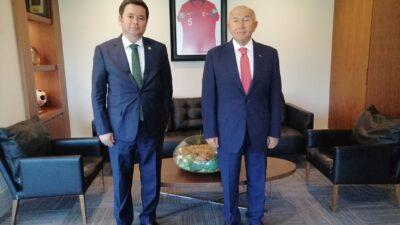 Erkan Aydın TFF'ye gitti… Özdemir'le Bursaspor'u görüştü…