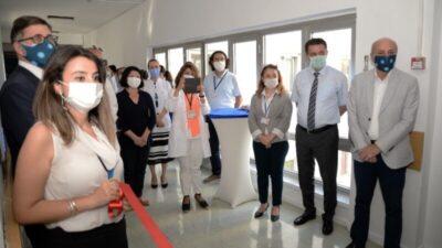 Uludağ Üniversitesi Hastanesinin yenilenen kliniği hizmete girdi