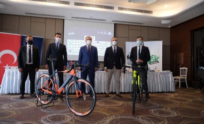 Bursa 'sosyal mesafeli' bisiklet yarışına hazır
