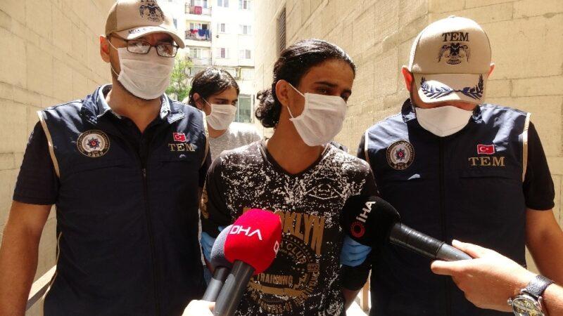 Bursa'da canlı bomba ve beraberindeki 4 Deaşlı adliyede