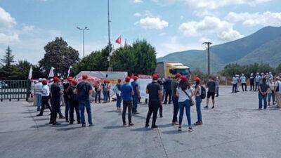 Cargill işçileri eylemlere yeniden başlıyor