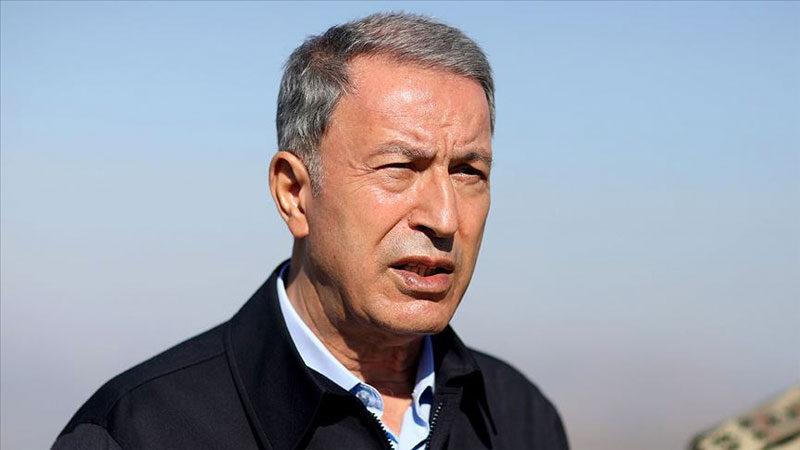 Bakan Akar'dan Yunanistan'a diyalog çağrısı…