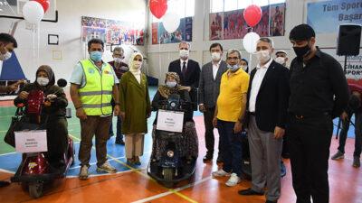 13 engelli vatandaş hayallerine kavuştu