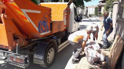 İnegöl'de bayram süresince 290 ton kurban atığı toplandı