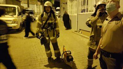 Bursa'da intihar edeceğini söyledi polis ve itfaiye alarma geçip kapıyı kırdı