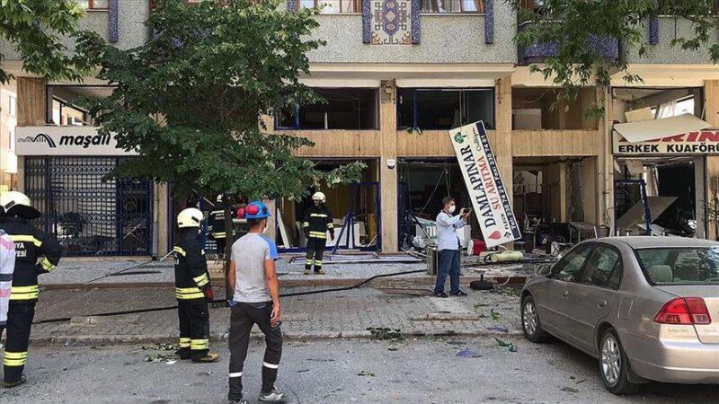İşyerinde doğalgaz patlaması: Çok sayıda itfaiye ekibi sevk edildi