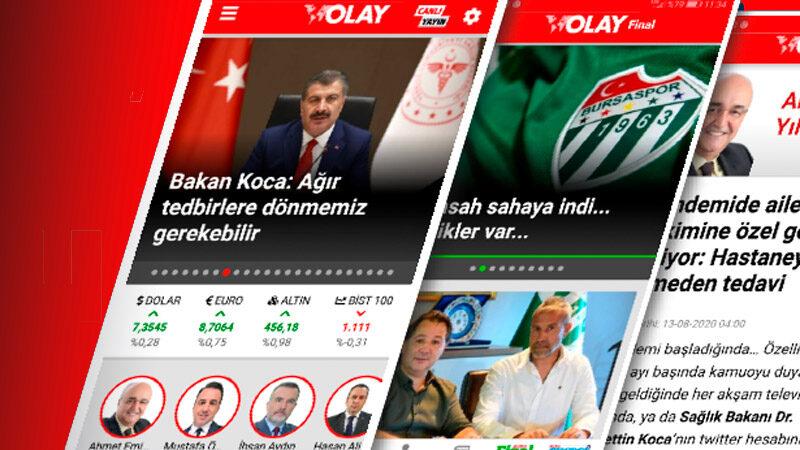 OLAY'ın iOS ve Android uygulaması yenilendi