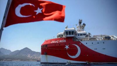 Bakan duyurdu! 1.750 kilometre kablo Akdeniz'e indi