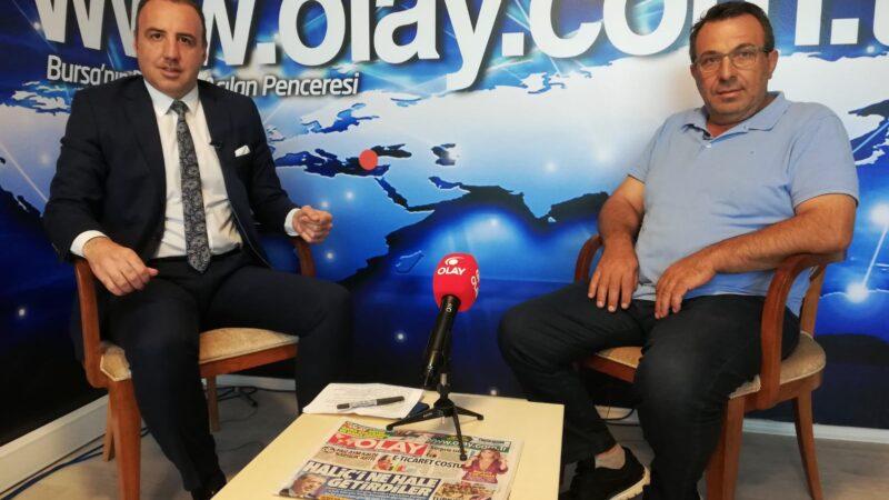 NOSAB Başkanı Gülmez OLAY'da anlattı… TALEPLERE YETİŞEMİYORUZ…
