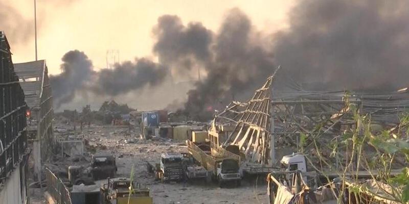 Lübnan'da şiddetli patlama…