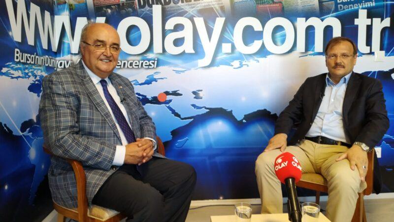Hakan Çavuşoğlu OLAY'da anlattı; Bursa Türkiye'nin öncü şehri olacak…
