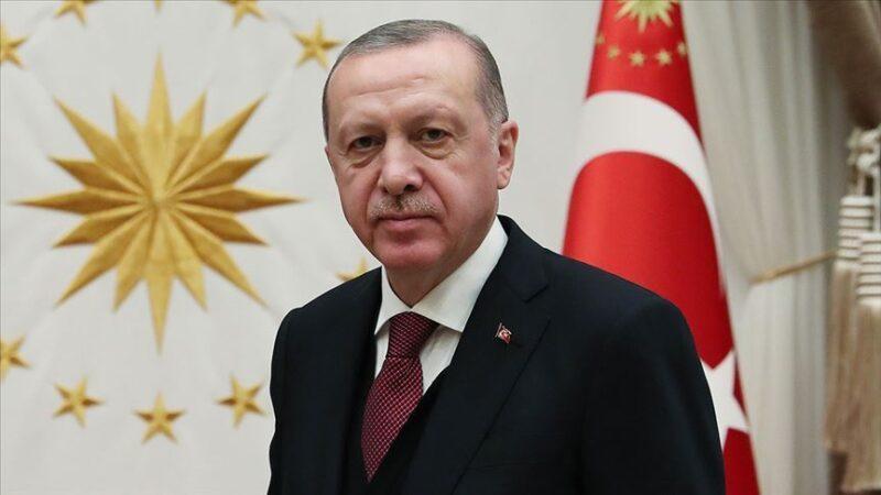 Cumhurbaşkanı Erdoğan Ayasofya'da