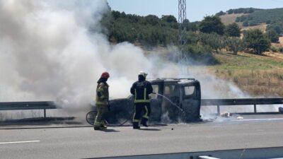Bursa'da 4 kişilik aile ölümden döndü