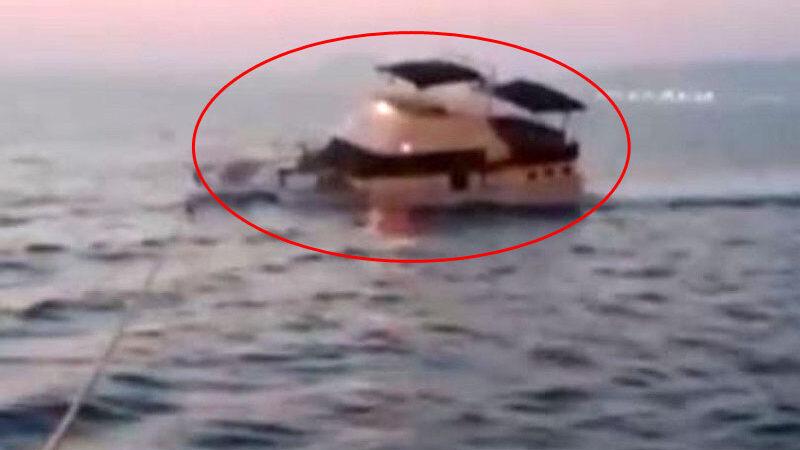 Yunan askeri, sivil tekneyi böyle batırdı!