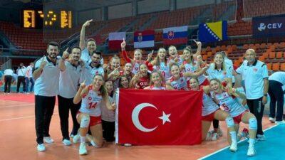 Zafer Bayramı'nda gelen Avrupa şampiyonluğu…