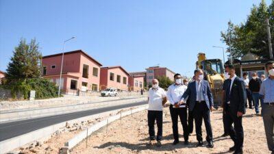 İnegöl-Yenişehir Yolunun çevresi düzenleniyor
