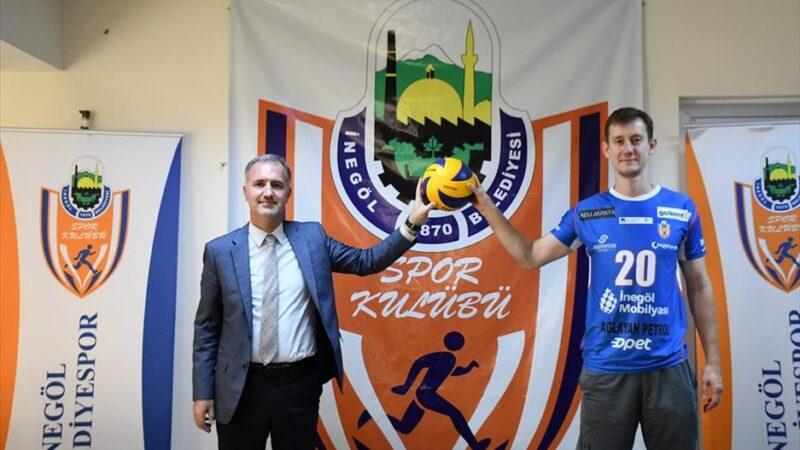 Dimitri Bahov İnegöl Belediyespor'da