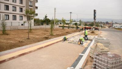 Yeniceköy Mahallesi'nde otopark yapımı sürüyor