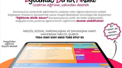 Öğrencilerin tablet ihtiyacı için destek kampanyası başlatıldı