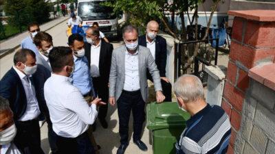 Bireysel çöp konteyner uygulaması Fatih Mahallesi'nde devam ediyor
