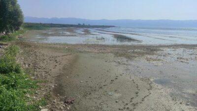İznik Gölü'nde korkutan çekilme!