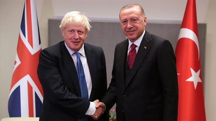 Cumhurbaşkanı Erdoğan ile Boris Johnson arasında kritik görüşme!