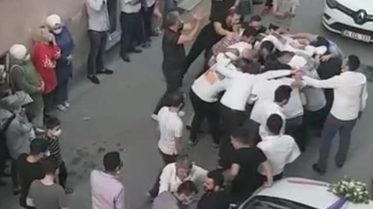 Bursa'da şoke eden görüntüler! Virüsü hiçe saydılar