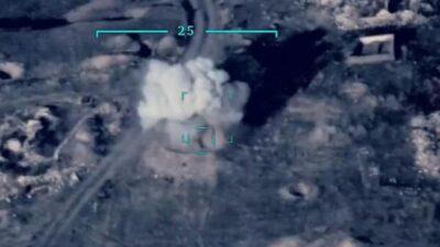 İşte ilk görüntü: Ermenistan hedefleri böyle vuruldu