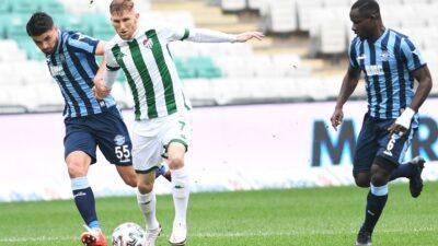 80 milyon Euro'luk TFF 1.Lig'de Bursaspor 9'uncu sırada