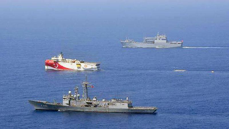 Flaş Doğu Akdeniz açıklaması: 'Savaş tehdidi hissedilirse…'