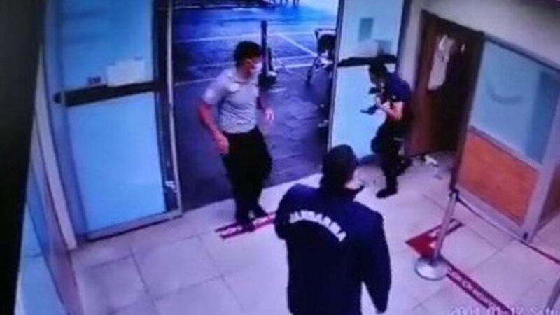 Polise saldırdı, camları kırdı! Hastanede terör estirdi