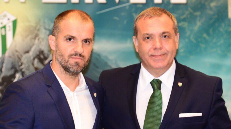 Bursaspor'da gözler Başkan Erkan Kamat'ta