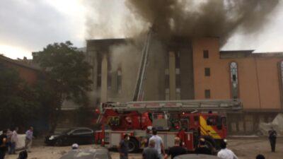 Bursa'da fabrikada yangın!