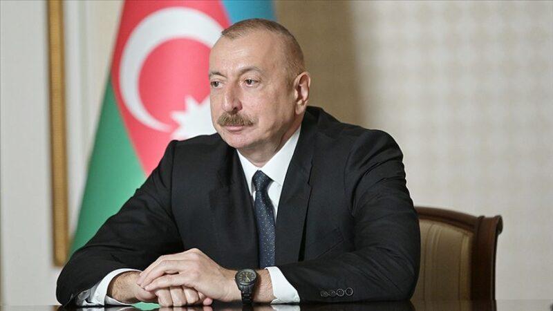 Aliyev: Türkiye, dünyada ve bölgede istikrar sağlayan bir role sahip