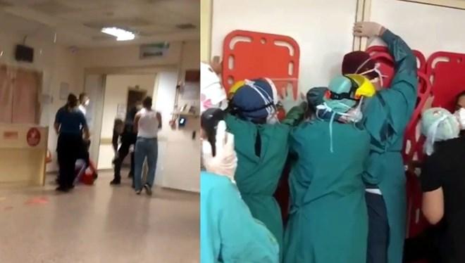 Sağlıkçılara yapılan saldırıda flaş gelişme!