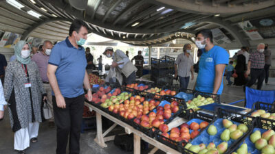 Bursa'nın ilk Çiftçi Pazarı açıldı