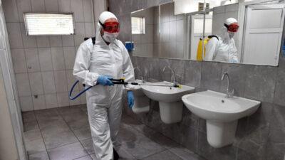 Temizlik ve dezenfeksiyon aralıksız sürüyor