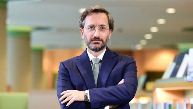 Fahrettin Altun'dan Doğu Akdeniz açıklaması