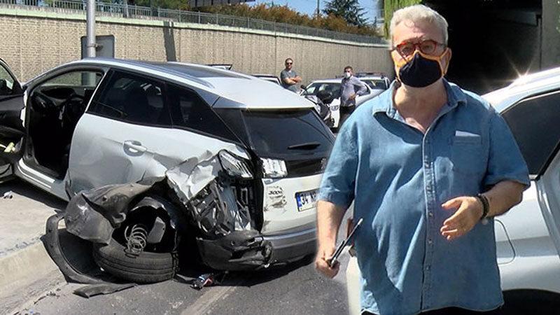 Ünlü gurme trafik kazası geçirdi