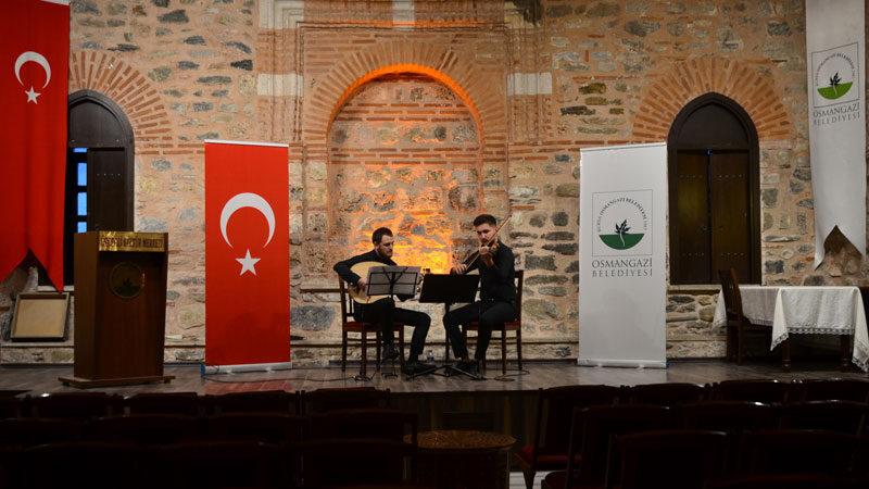 Osmangazi'den evde konser fırsatı