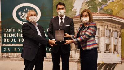 Tarihin merkezi Osmangazi'ye Uygulama Ödülü